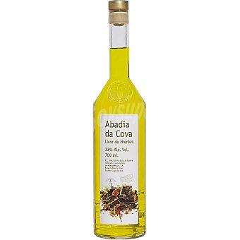 ABADIA DA COVA licor de hierbas botella 70 cl