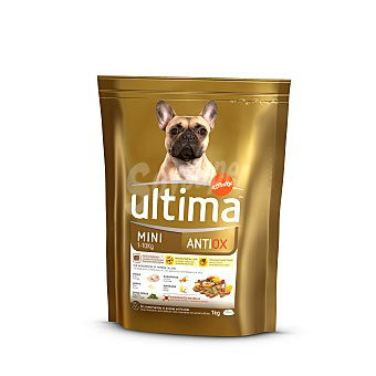 Ultima Affinity Pienso para perros de talla mini antiox Bolsa 1 kg