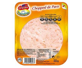 Pavofrío Campofrío Chopped de pavo en lonchas Envase 300 g