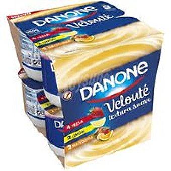 Danone Yogur veloute panaché Pack 8x120gr
