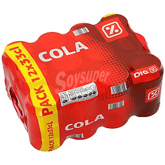 DIA Refresco de cola Pack 12 x 33 cl