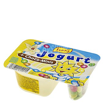 Sunny Delight Yogur de vainilla con chocolate 120 g