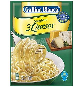 Gallina Blanca Menu spaghetti 3 quesos 175 GRS