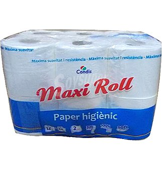 Condis Papel hig maxi roll 12 UNI