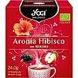 Infusión de aronia e hibisco con manzana ecológica estuche 12 bolsitas estuche 12 bolsitas Yogi Tea