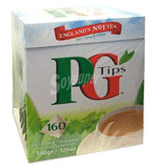 Pg Tips Té en bolsita piramidal Caja de 160 bolsitas