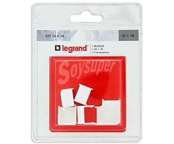 LEGRAND Kit de instalación básica 10x16 5 Accesorios