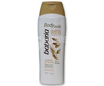 Babaria Body milk de avena y sésamo para pieles normales 500 mililitros