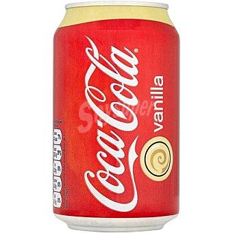 Coca-Cola Refresco de cola con vainilla  Lata 35.5 cl