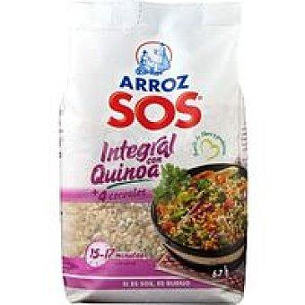 Sos Arroz integral con quinoa Paquete 500 g