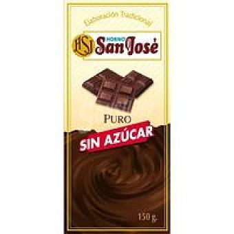 Horno San José Chocolate puro sin azùcar Tableta 150 g