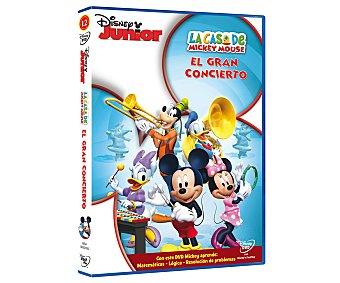 Disney Película en Dvd La casa de Mickey Mouse 12; el gran concierto. Género: infantil, preescolar, musical, animación. Edad: La casa de Mickey 12