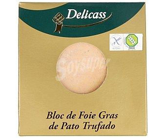 Delicass Bloc de foie gras de pato trufado 40g