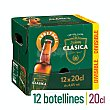Cerveza rubia clásica Pack 12 botellines x 20 cl  Steinburg