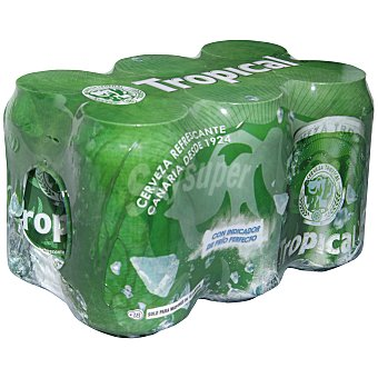 Tropical Cerveza Pack 6x33 cl