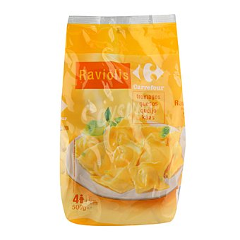 Carrefour Ravioli con formaggi 500 g