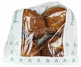 Pan Especial Panecillo de Pasas y Nueces 4 Unidades