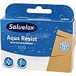 Aqua Resist banda adhesiva hipoalergénica de plástico 1m x 6cm caja 100 cm  Salvelox