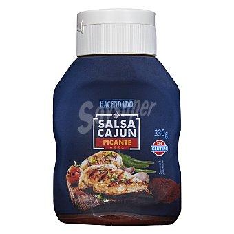 Hacendado Salsa cajún (picante) Bote 330 g
