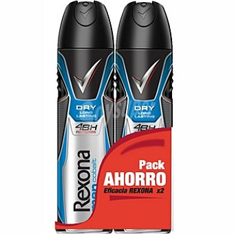 Rexona men desodorante Cobalt pack 2 spray 200 ml