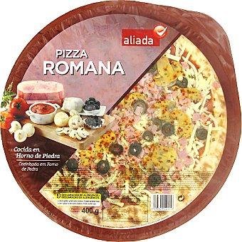 Aliada Pizza romana cocida en horno de piedra Envase 400 g