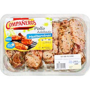 COMPAÑEROS Alas pollo adob.mediterraneo 500G