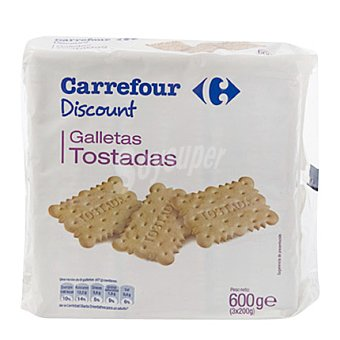 Carrefour Discount Galletas tostadas 800 g