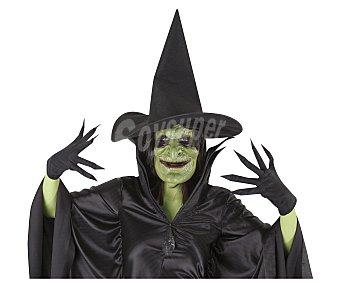 HAUNTED HOUSE Set de accesorios para disfraz adulto de bruja, incluye capa, gorro y guantes, Halloween Set accesorios bruja