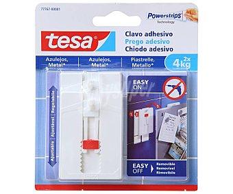 Tesa Clavo adhesivo ajustable para azulejos, TESA.