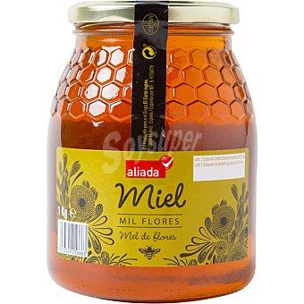 Aliada Miel de flores en tarro de cristal  Frasco 1 kg