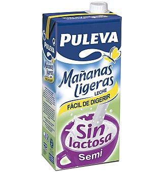 Puleva Leche sin lactosa semidesnatada 1l