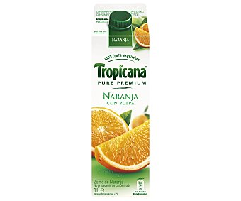 Tropicana Pure Premium Zumo Refrigerado Naranja 1 Litro