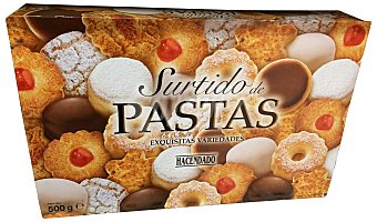 Hacendado Pastas artesanas surtidas Caja 500 g