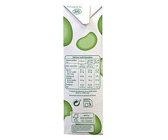 Auchan Leche desnatada Pack brik 6 unidades de 1 litro