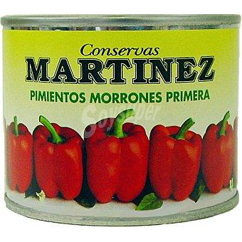 Martinez Pimientos rojos Lata 125 g neto escurrido