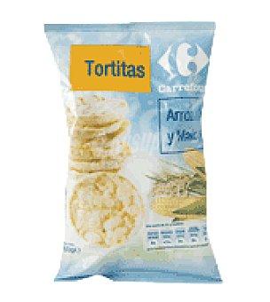 Carrefour Tortitas de arroz y maiz 60 g