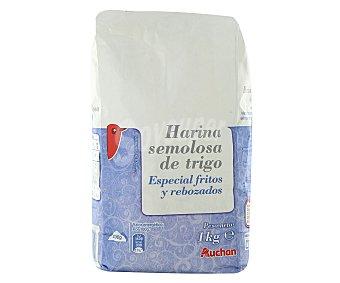 Auchan Harina de trigo especial para fritos y rebozados 1 kilogramo