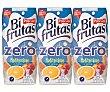 Zumo mediterráneo zero Pack 3 brik x 330 ml Bifrutas Pascual