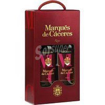 Marqués de Cáceres Vino Reserva Rioja Pack 2x75 cl