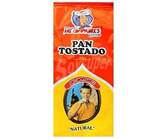 Panadería Los Compadres Pan Tostado Natural 300 Gramos