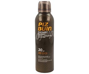 PIZ BUIN Spray solar piel luminosa con factor de protección 30 150 ml