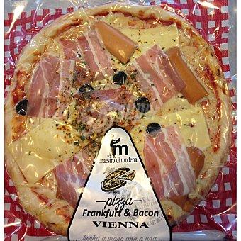 Casa modena pizza Vienna frankfurt y bacon envase 440 g