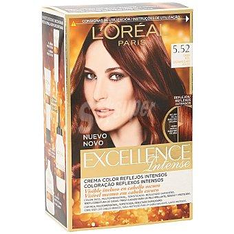 Excellence L'Oréal Paris Tinte Intense caoba nº 5.52 color multi-reflejos Caja de 1 u
