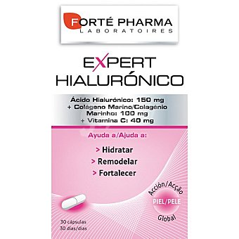 Forte Pharma Expert Hialuronico esencia natural de la piel caja 30 capsulas Caja 30 capsulas