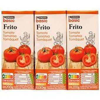 Eroski Basic Tomate frito Pack 3 x 200 g