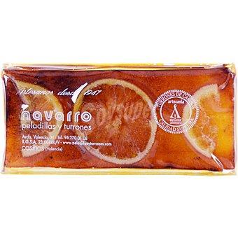 Navarro Turrón de yema tostada con naranja Tableta 300 g