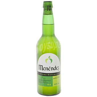 Menéndez Sidra natural Asturiana Botella 75 cl