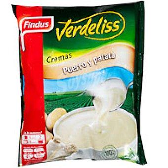 Findus Crema de puerro con patata Bolsa 450 g
