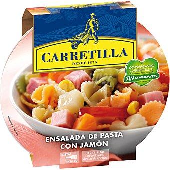 Carretilla Ensalada Pic-Nic de pasta con jamón bol 240 g