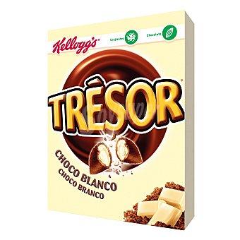 Trésor Kellogg's Cereales de desayuno rellenos de chocolate blanco Paquete 400 g